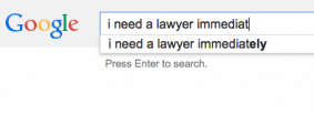 right to google a lawyer