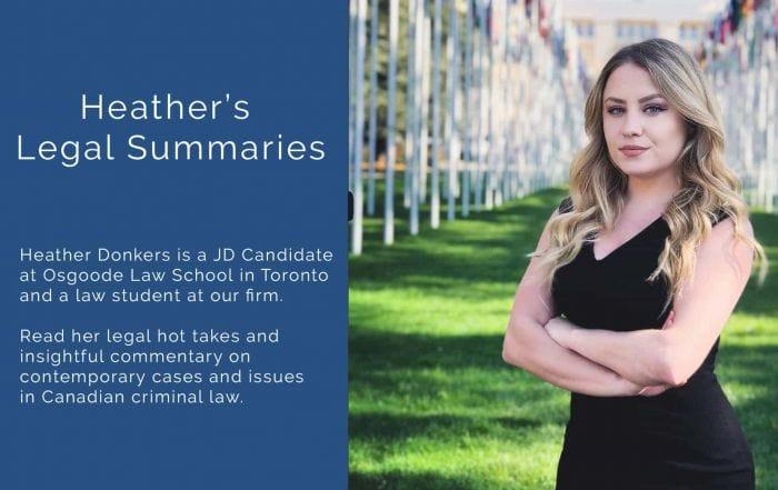 Heather Donkers Summaries