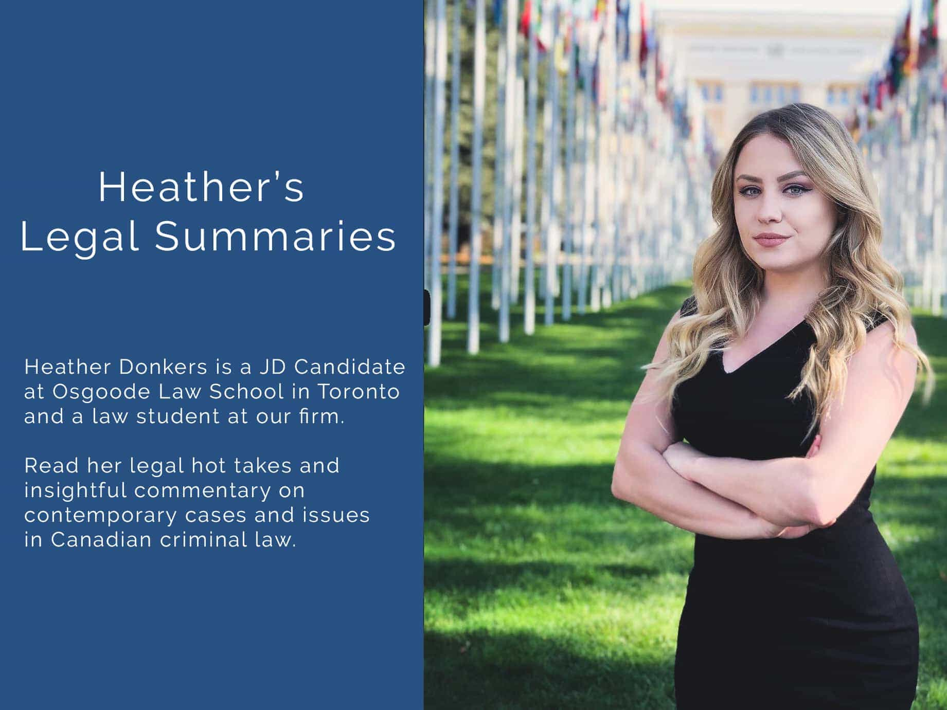 Heather Donkers Summaries