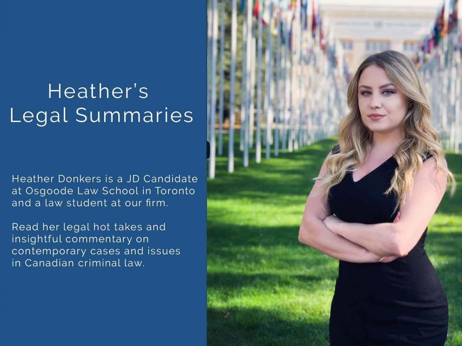 Heather's legal summaries cumulative hearsay rule