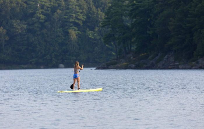 Impaired canoe paddle board criminal charged